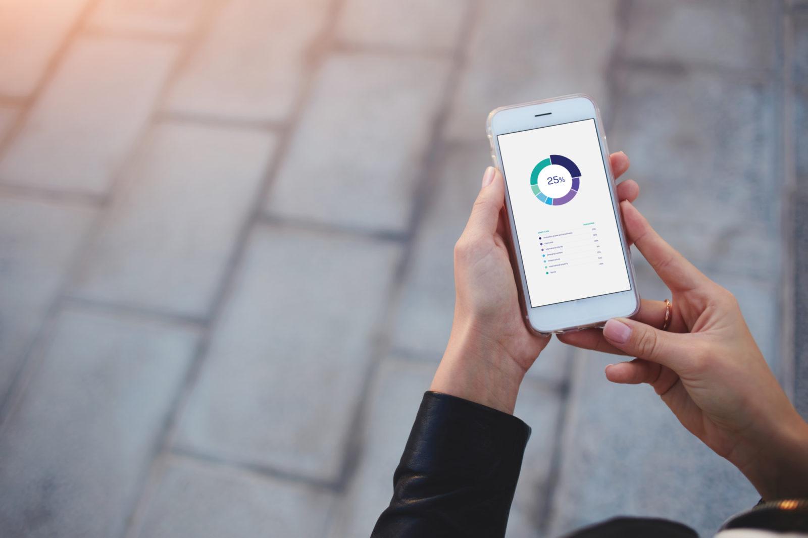 Smart phone with diversified portfolio