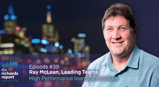 Ray McLean talks about building a winning culture and performance on The Richards Report